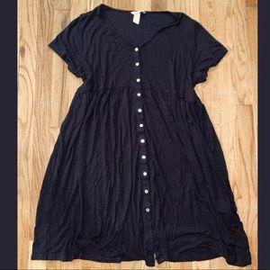 H&M Mama Black S/S Maternity Dress XXL